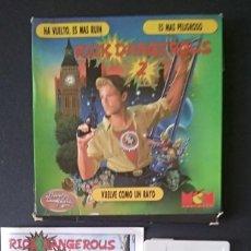 Videojuegos y Consolas: RICK DANGEROUS 2 COMMODORE 64. Lote 196147046