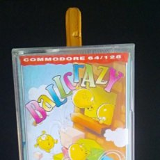 Videojuegos y Consolas: BALL CRAZY DRO SOFT COMMODORE 64 128. Lote 196536411