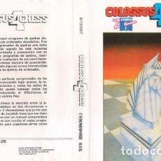 Videojuegos y Consolas: COLOSSUS 4 CHESS COMMODORE 64 CAJA MAYOR. Lote 196579182