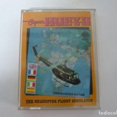 Videojuegos y Consolas: SUPER HUEY 2 / JEWEL CASE / COMMODORE 64 - C64 / RETRO VINTAGE / CASSETTE - CINTA. Lote 197757202