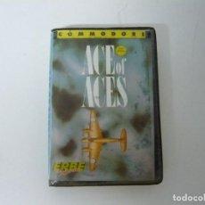 Videojuegos y Consolas: ACE OF ACES / ESTUCHE / COMMODORE 64 - C64 / RETRO VINTAGE / CASSETTE - CINTA. Lote 197758113