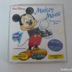 Videojuegos y Consolas: MICKEY MOUSE / ESTUCHE / COMMODORE 64 - C64 / RETRO VINTAGE / DISCO - DISKETTE. Lote 197758840