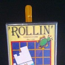 Videojuegos y Consolas: ROLLIN - COMMODORE 64. Lote 198098802