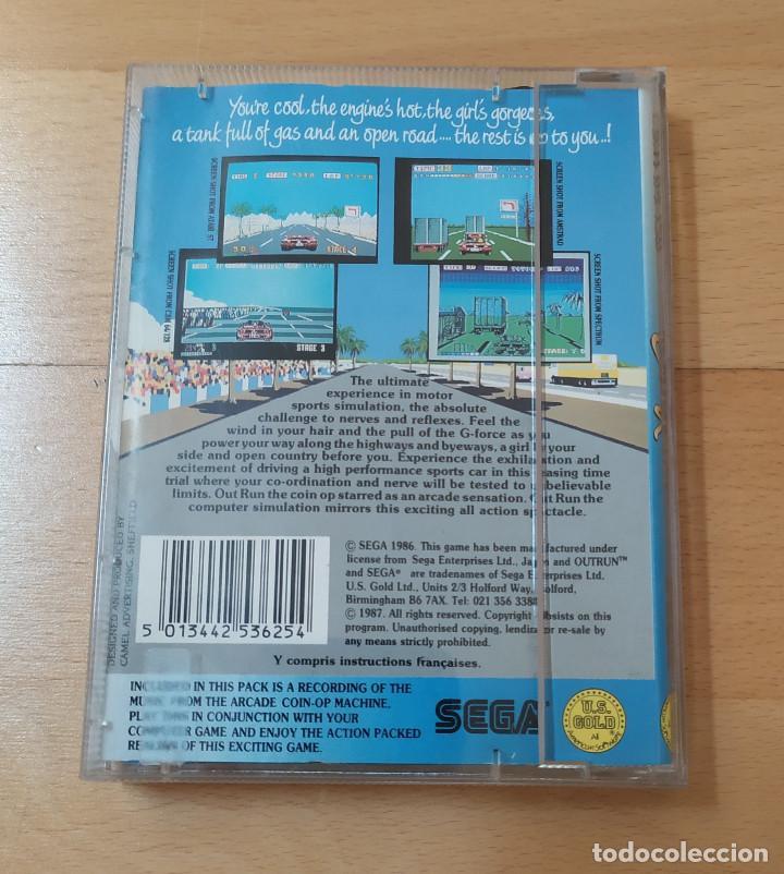 Videojuegos y Consolas: JUEGO CASSETTE OUT RUN PARA COMMODORE FUNCIONANDO PERFECTAMENTE - Foto 2 - 184450660