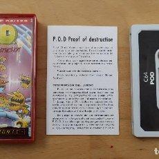 Videojuegos y Consolas: JUEGO ORDENADOR COMMODORE 64 POD P.O.D MASTERTRONIC MUY BUEN ESTADO FUNCIONANDO . Lote 198387248