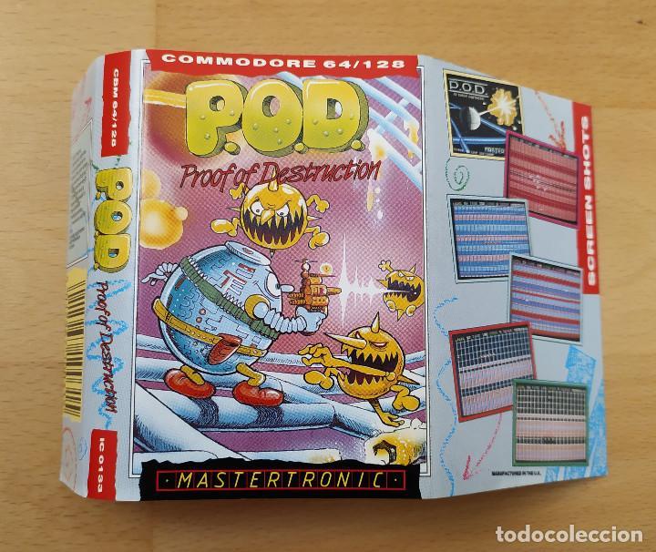 Videojuegos y Consolas: JUEGO ORDENADOR COMMODORE 64 POD P.O.D MASTERTRONIC MUY BUEN ESTADO FUNCIONANDO - Foto 3 - 198387248