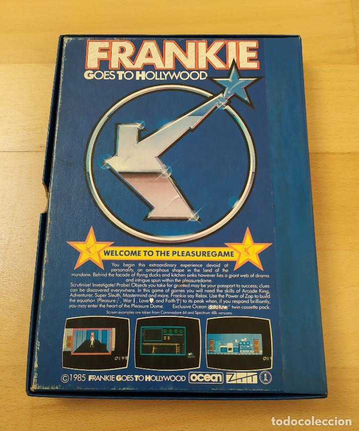 Videojuegos y Consolas: JUEGO ORDENADOR COMMODORE 64 FRANKIE GOES TO HOLLYWOOD INCOMPLETO - Foto 2 - 198387512