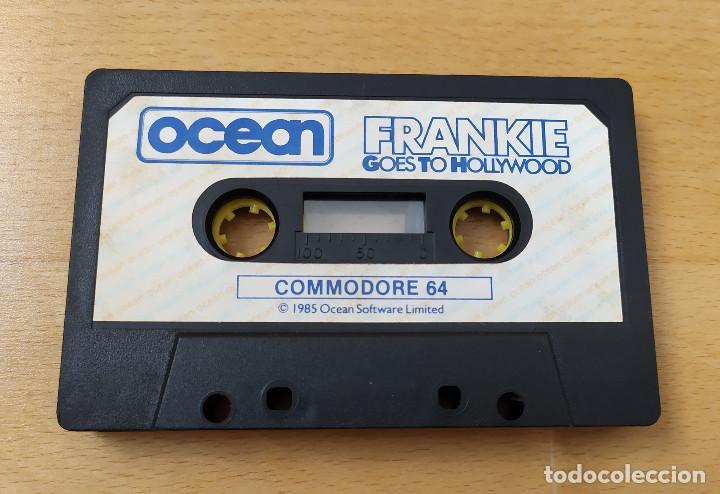 Videojuegos y Consolas: JUEGO ORDENADOR COMMODORE 64 FRANKIE GOES TO HOLLYWOOD INCOMPLETO - Foto 6 - 198387512