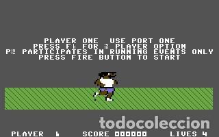 Videojuegos y Consolas: Daley Thomson´s Decathlon [Ocean Software] 1984 The Hit Squad [Commodore 64 C64] - Foto 6 - 54619039