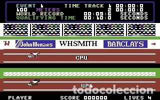 Videojuegos y Consolas: Daley Thomson´s Decathlon [Ocean Software] 1984 The Hit Squad [Commodore 64 C64] - Foto 7 - 54619039