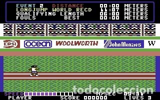 Videojuegos y Consolas: Daley Thomson´s Decathlon [Ocean Software] 1984 The Hit Squad [Commodore 64 C64] - Foto 8 - 54619039