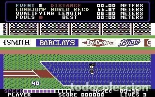 Videojuegos y Consolas: Daley Thomson´s Decathlon [Ocean Software] 1984 The Hit Squad [Commodore 64 C64] - Foto 9 - 54619039