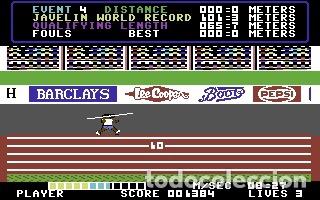 Videojuegos y Consolas: Daley Thomson´s Decathlon [Ocean Software] 1984 The Hit Squad [Commodore 64 C64] - Foto 11 - 54619039
