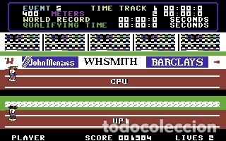 Videojuegos y Consolas: Daley Thomson´s Decathlon [Ocean Software] 1984 The Hit Squad [Commodore 64 C64] - Foto 12 - 54619039
