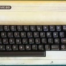 Videojuegos y Consolas: ORDENADOR CONSOLA PERSONAL COLOR COMPUTER COMMODORE VIC 20 - FUNCIONANDO - CE. Lote 200086511