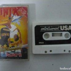 Videojuegos y Consolas: NINJA / JEWEL CASE / COMMODORE 64 - C64 / RETRO VINTAGE / CASSETTE - CINTA. Lote 200779092