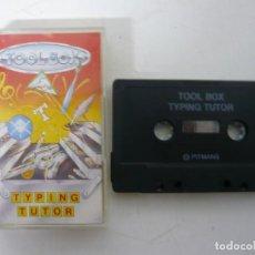 Videojuegos y Consolas: TYPING TUTOR / JEWEL CASE / COMMODORE 64 - C64 / RETRO VINTAGE / CASSETTE - CINTA. Lote 200779278