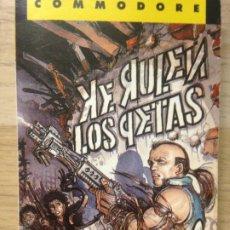 Videojuegos y Consolas: KE RULEN LOS PETAS - COMMODORE. Lote 202399863
