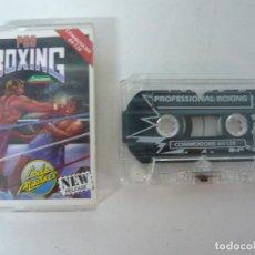Videojuegos y Consolas: PRO BOXING / JEWEL CASE / COMMODORE 64 - C64 / RETRO VINTAGE / CASSETTE - CINTA. Lote 204697082