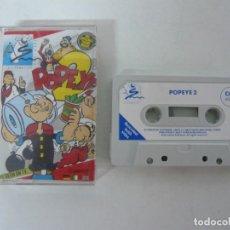 Videojuegos y Consolas: POPEYE 2 / JEWEL CASE / COMMODORE 64 - C64 / RETRO VINTAGE / CASSETTE - CINTA. Lote 204699008