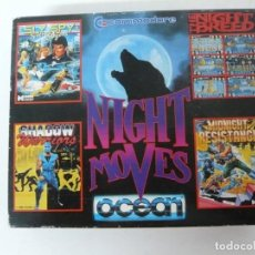 Videojuegos y Consolas: NIGHT MOVES / CARTÓN / COMMODORE 64 - C64 / RETRO VINTAGE / CASSETTE - CINTA. Lote 204700647