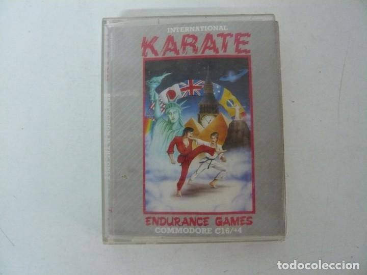 INTERNATIONAL KARATE / JEWELL / COMMODORE / RETRO VINTAGE / CASSETTE - CINTA (Juguetes - Videojuegos y Consolas - Commodore)