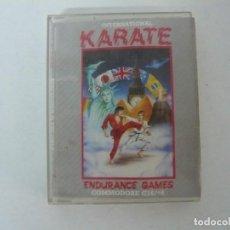 Videojuegos y Consolas: INTERNATIONAL KARATE / JEWELL / COMMODORE / RETRO VINTAGE / CASSETTE - CINTA. Lote 204701063