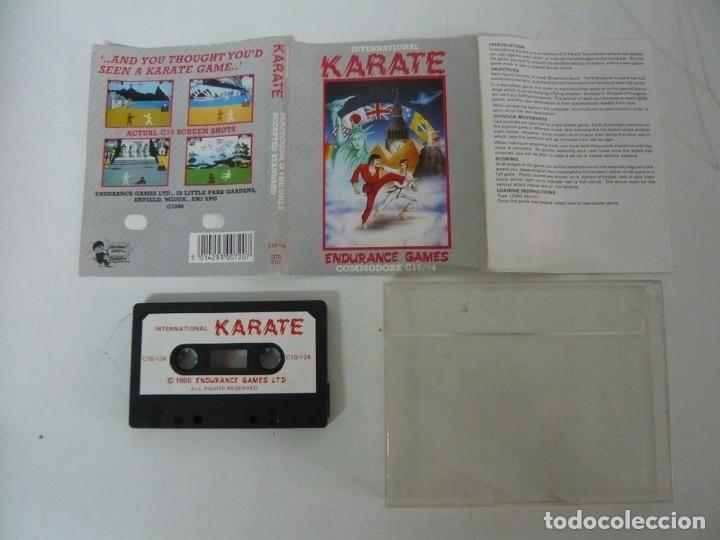 Videojuegos y Consolas: INTERNATIONAL KARATE / JEWELL / COMMODORE / RETRO VINTAGE / CASSETTE - CINTA - Foto 2 - 204701063