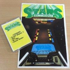 Videojuegos y Consolas: C 64 - REVISTA COMMODORE STARS Nº 1 CON SU CASSETTE DE UTILIDADES SOFTWARE. SEPTIEMBRE 1985. Lote 206356645