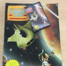 Videojuegos y Consolas: C 64 - REVISTA COMMODORE COMPUTER CLUB Nº 3 CON SU CASSETTE DE JUEGOS. AÑO 1985. Lote 206384797