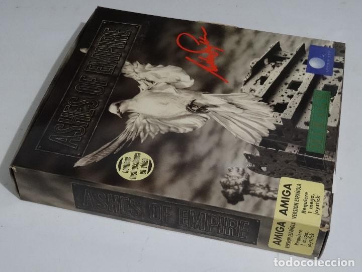 Videojuegos y Consolas: COMMODORE AMIGA - Ashes of Empire Ed. ESPAÑOLA ÚNICA en EBAY Big BOX RARE - Foto 2 - 206774593