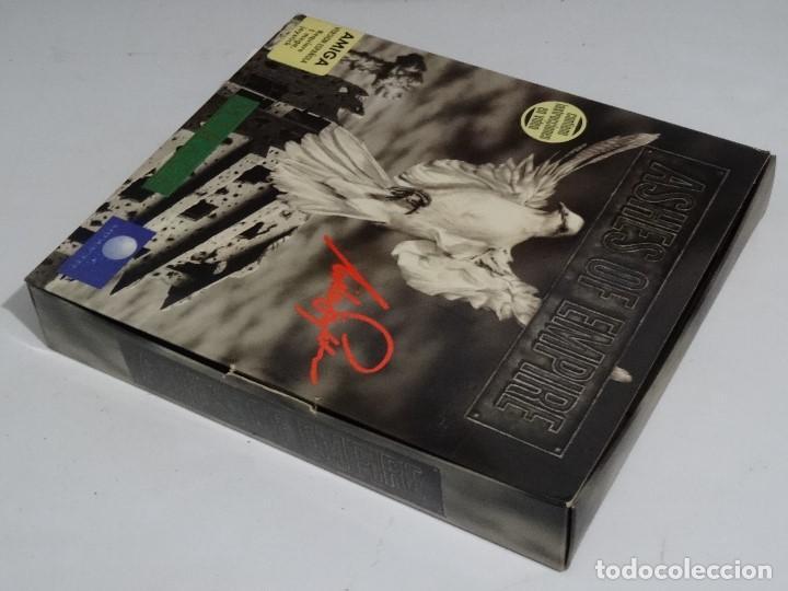 Videojuegos y Consolas: COMMODORE AMIGA - Ashes of Empire Ed. ESPAÑOLA ÚNICA en EBAY Big BOX RARE - Foto 3 - 206774593