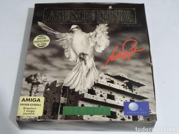 Videojuegos y Consolas: COMMODORE AMIGA - Ashes of Empire Ed. ESPAÑOLA ÚNICA en EBAY Big BOX RARE - Foto 4 - 206774593