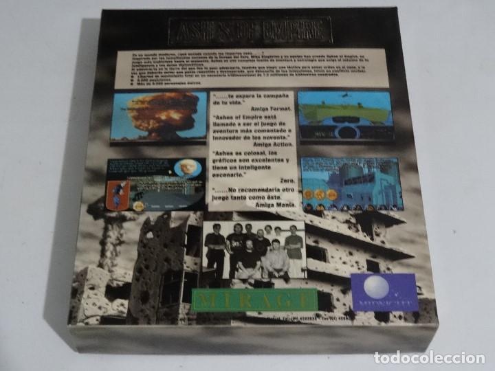Videojuegos y Consolas: COMMODORE AMIGA - Ashes of Empire Ed. ESPAÑOLA ÚNICA en EBAY Big BOX RARE - Foto 5 - 206774593