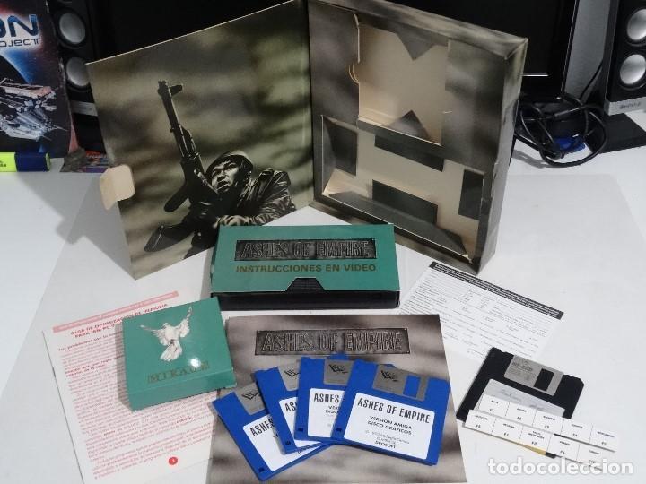 Videojuegos y Consolas: COMMODORE AMIGA - Ashes of Empire Ed. ESPAÑOLA ÚNICA en EBAY Big BOX RARE - Foto 7 - 206774593