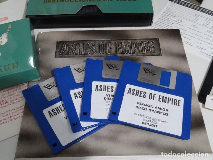 Videojuegos y Consolas: COMMODORE AMIGA - Ashes of Empire Ed. ESPAÑOLA ÚNICA en EBAY Big BOX RARE - Foto 9 - 206774593