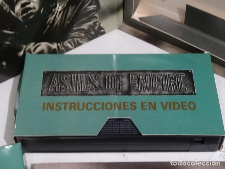 Videojuegos y Consolas: COMMODORE AMIGA - Ashes of Empire Ed. ESPAÑOLA ÚNICA en EBAY Big BOX RARE - Foto 11 - 206774593