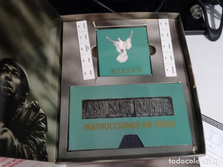 Videojuegos y Consolas: COMMODORE AMIGA - Ashes of Empire Ed. ESPAÑOLA ÚNICA en EBAY Big BOX RARE - Foto 12 - 206774593
