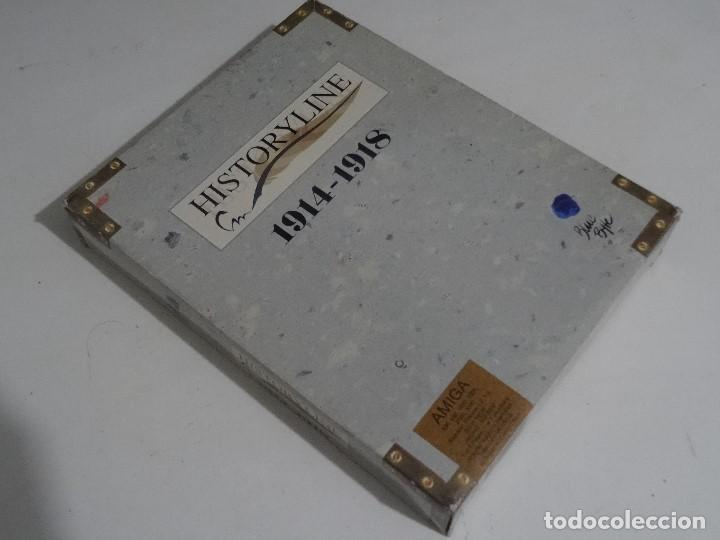 COMMODORE AMIGA - HISTORYLINE 1914 - 1918 BIG BOX RARE (Juguetes - Videojuegos y Consolas - Commodore)