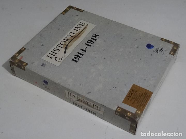 Videojuegos y Consolas: COMMODORE AMIGA - hISTORYlINE 1914 - 1918 Big BOX RARE - Foto 2 - 206774681