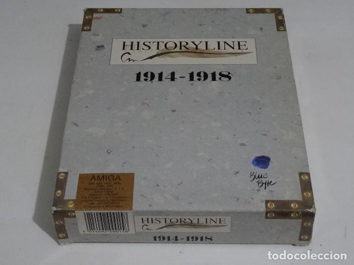 Videojuegos y Consolas: COMMODORE AMIGA - hISTORYlINE 1914 - 1918 Big BOX RARE - Foto 4 - 206774681