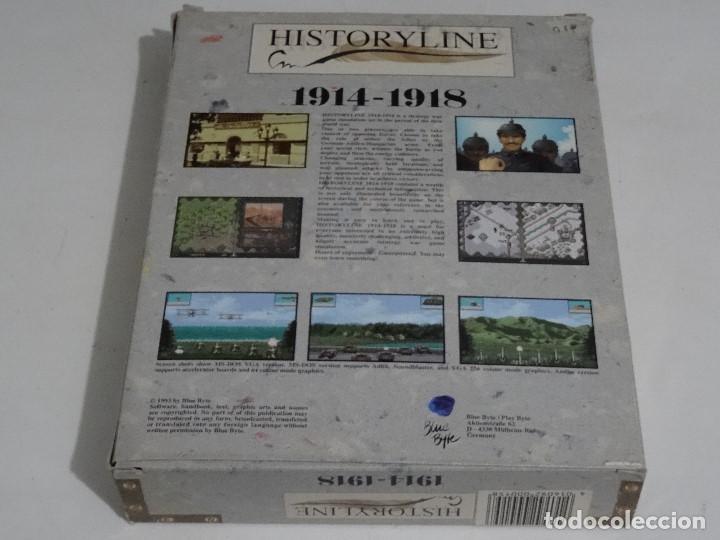 Videojuegos y Consolas: COMMODORE AMIGA - hISTORYlINE 1914 - 1918 Big BOX RARE - Foto 5 - 206774681