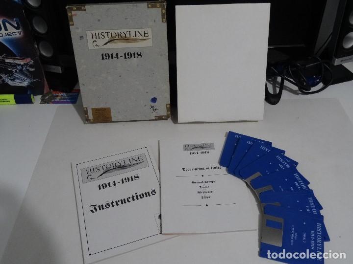 Videojuegos y Consolas: COMMODORE AMIGA - hISTORYlINE 1914 - 1918 Big BOX RARE - Foto 7 - 206774681