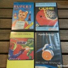 Videojuegos y Consolas: LOTE DE 12 JUEGOS PARA COMMODORE 64. Lote 207137291