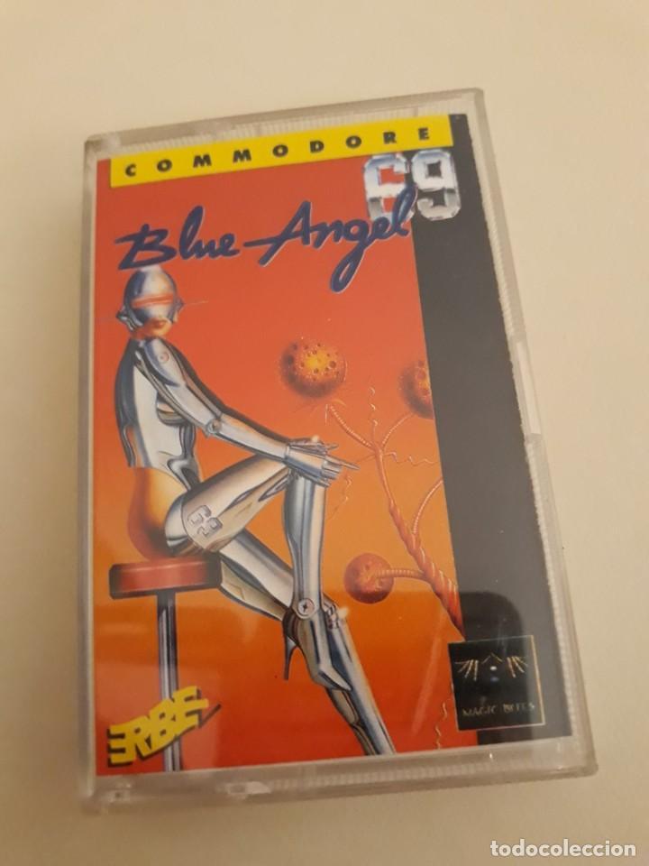BLUE ANGEL COMMODORE. ERBE. (Juguetes - Videojuegos y Consolas - Commodore)