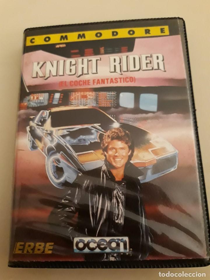 KNIGHT RIDER. COMMODORE (Juguetes - Videojuegos y Consolas - Commodore)