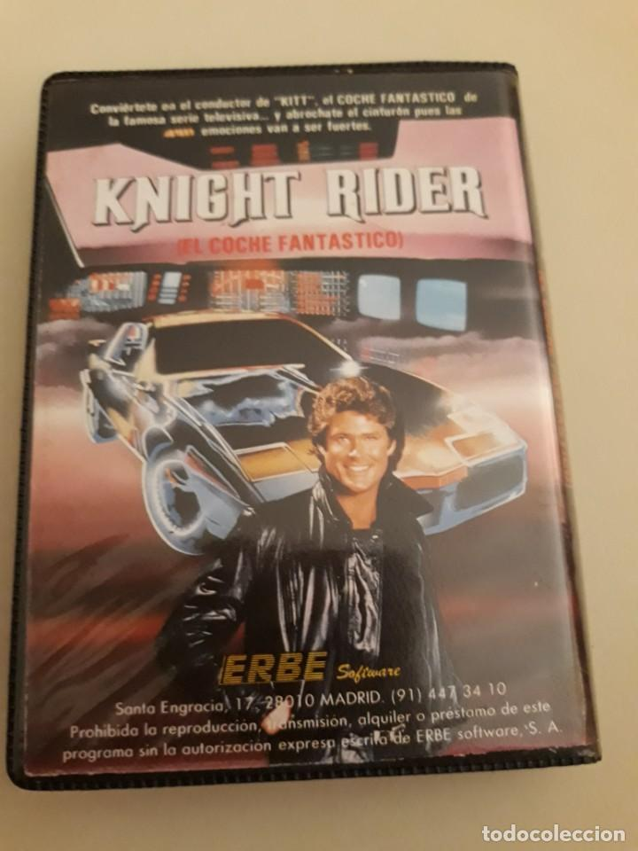 Videojuegos y Consolas: Knight Rider. Commodore - Foto 2 - 207167143