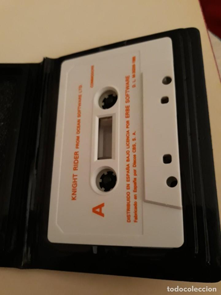 Videojuegos y Consolas: Knight Rider. Commodore - Foto 3 - 207167143