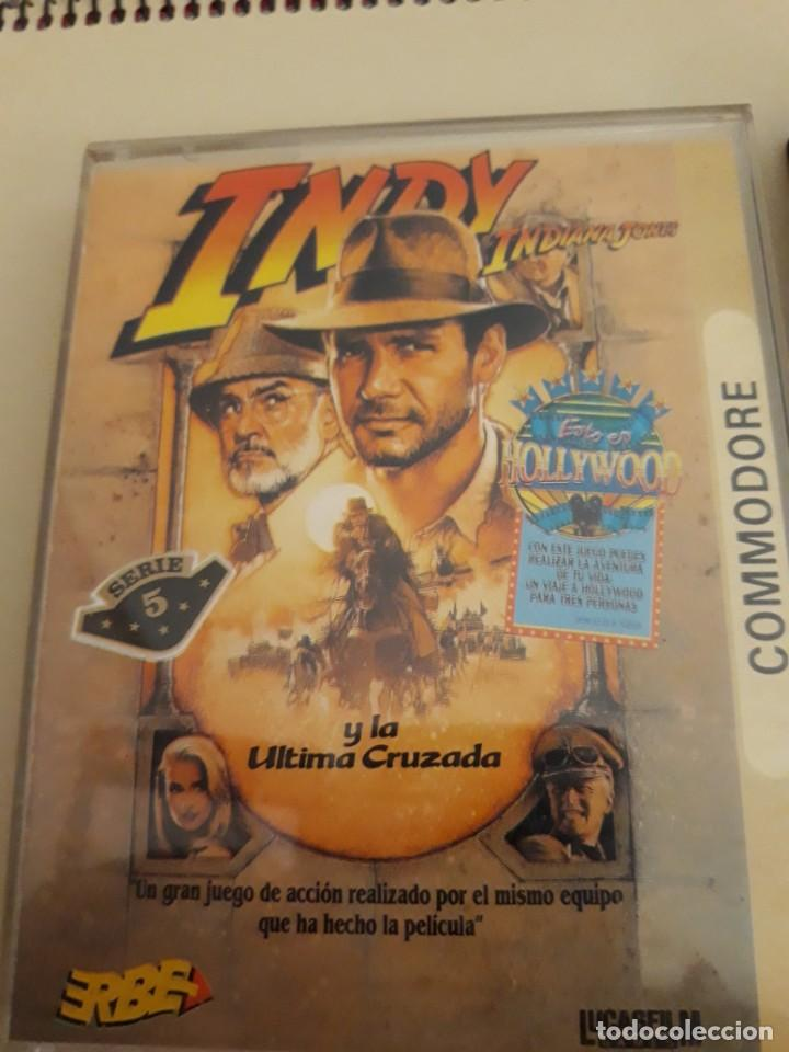 Videojuegos y Consolas: Commodore Indy y la ultima cruzada y Asterix y el caldero magico - Foto 3 - 207178790