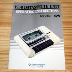 Videojuegos y Consolas: ANTIGUO MANUAL COMMODORE 64 - DATASSETTE 1530 - MODELO C2N - C64. Lote 207253410